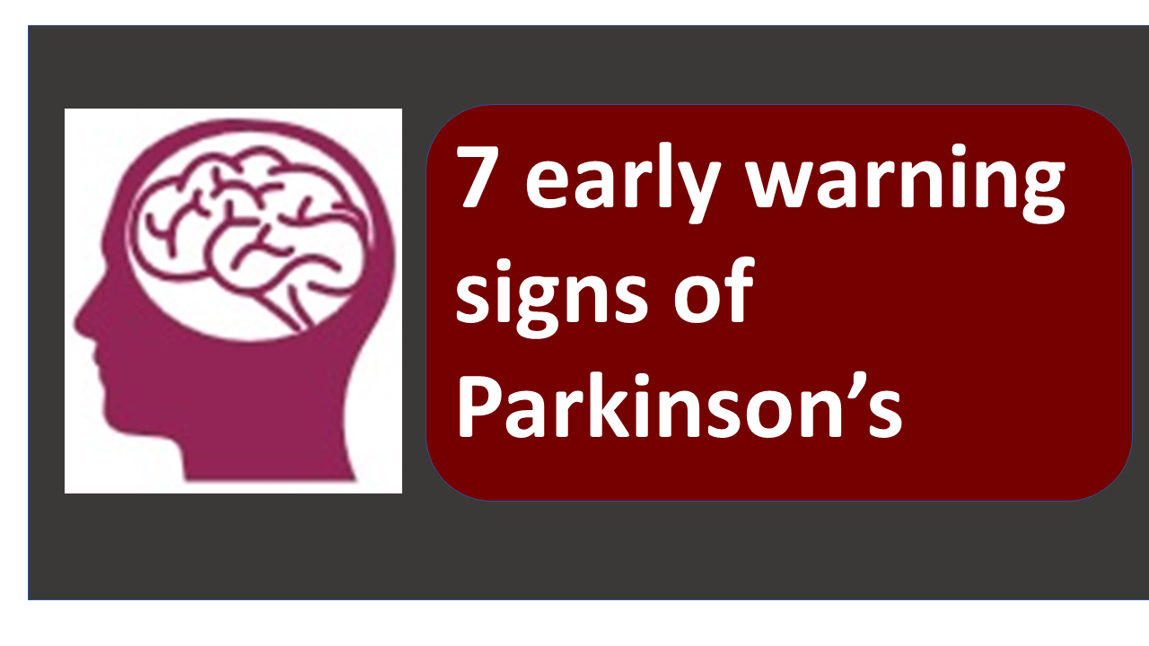 ​Parkinson's disease early signs you should know