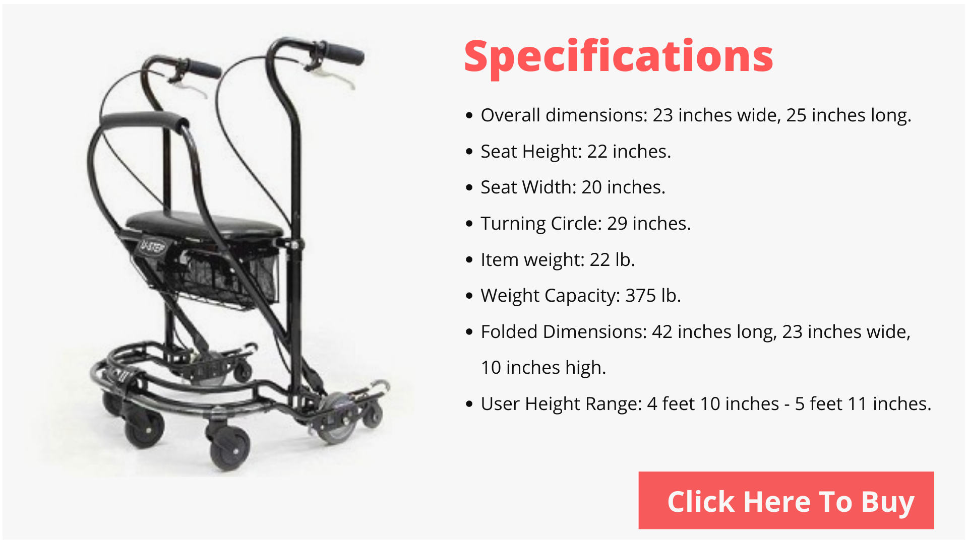 U-step 2walking walker