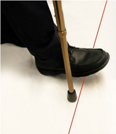 walking stick for Parkinson's
