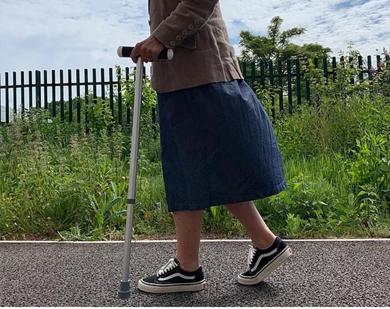 smart walking stick for Parkinson's patients