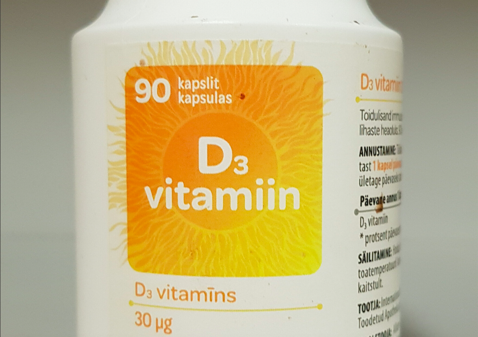 vitamin D for Parkinson's