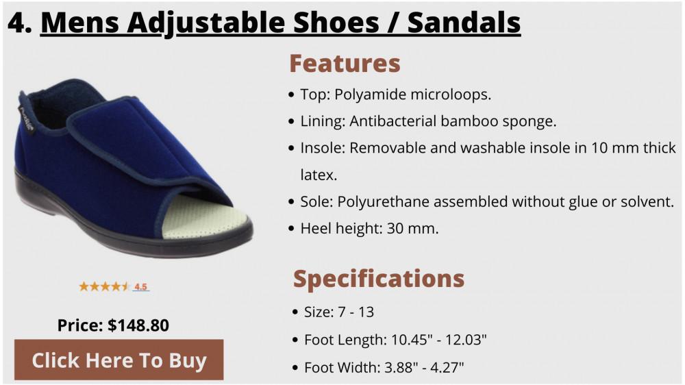 best sandals for elderly men