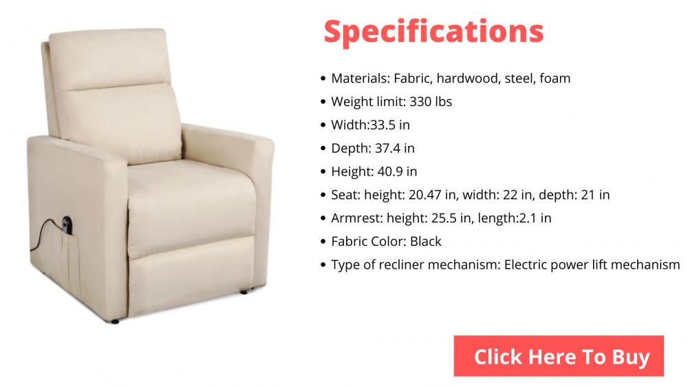 recliner chair for elderly