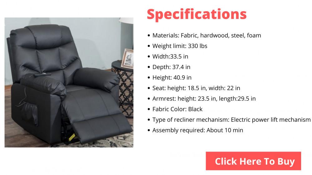 recliner for elderly
