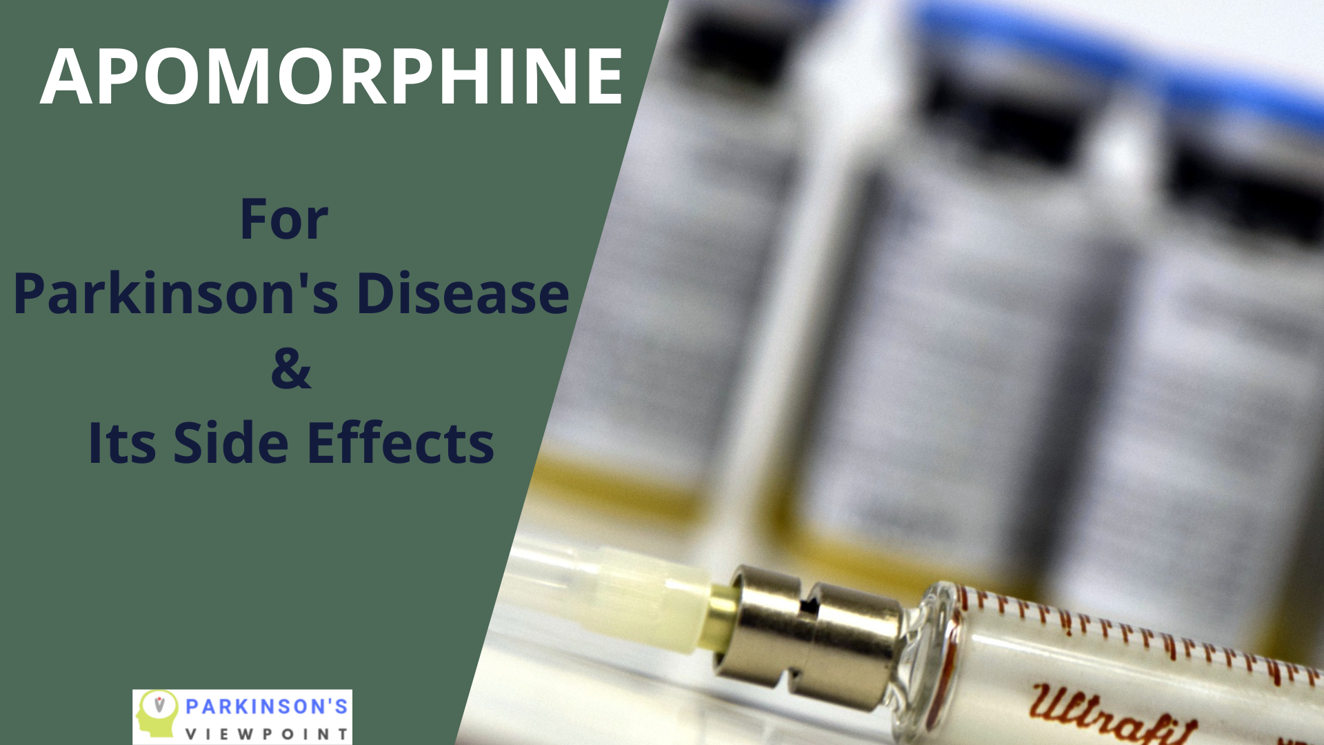 The Use of Apomorphine and its Side Effects in Parkinson's Disease