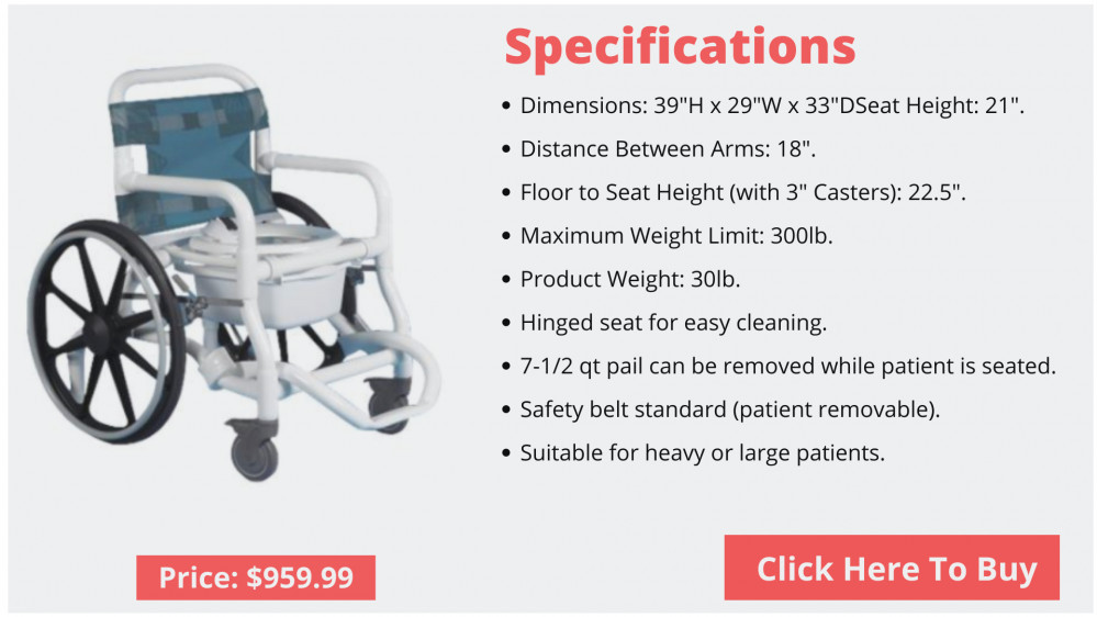 best shower wheelchair for elderly
