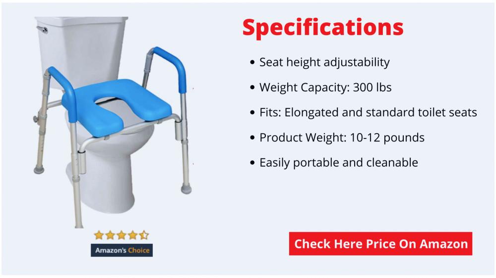toilet seat riser for elderly