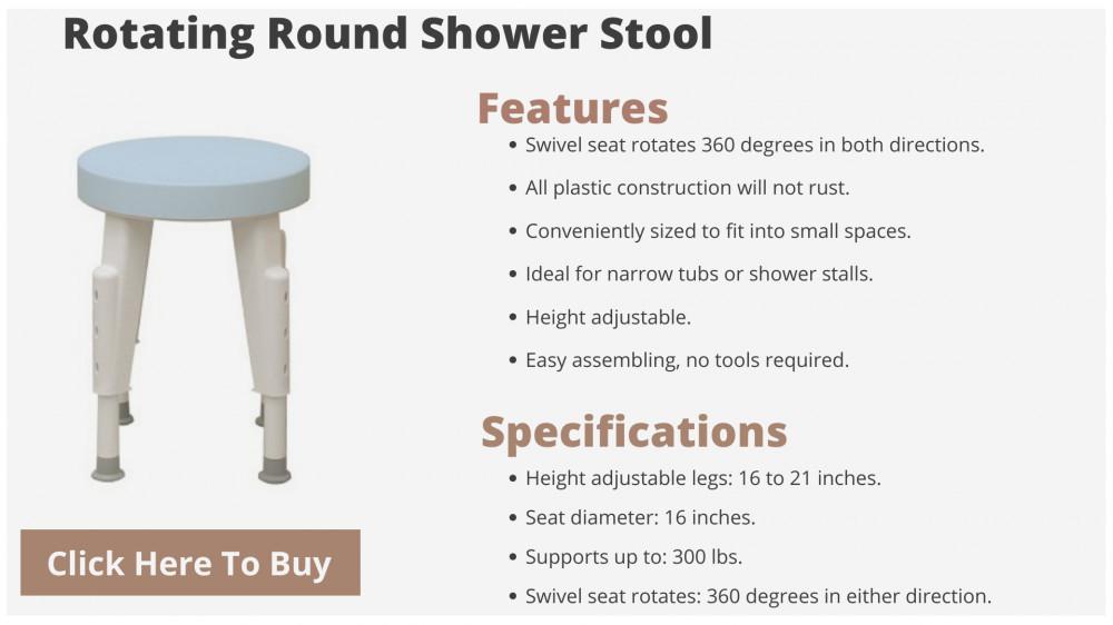 shower chair for elderly
