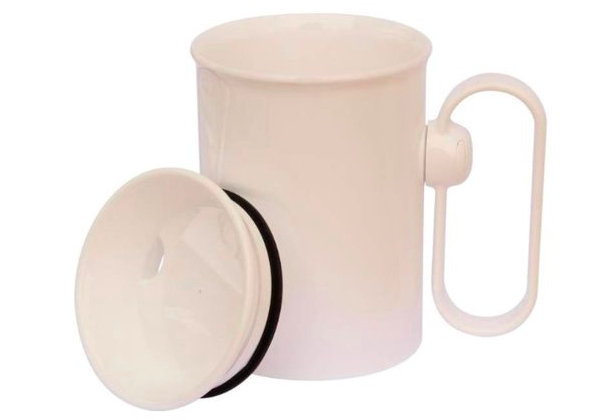 drinking cup for Parkinson's patients